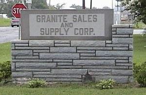 Granite Supplies, Stone Setting Supplies, Sandblasting Equipment